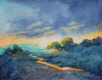 Texas Hill Country Painting - Hill Country Morning Breaks No 2 by Virgil Carter