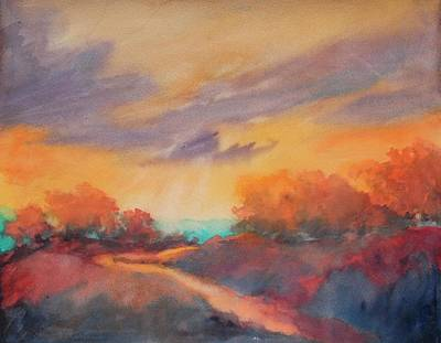 Texas Hill Country Painting - Hill Country Morning Breaks No 3 by Virgil Carter