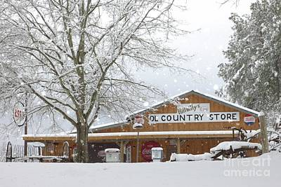 Esso Photograph - Hillbillys' Ol' Country Store by Benanne Stiens