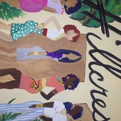 First Lady Mixed Media - Hillcrest Divas. The It Girls by Autoya Vance-Liggins
