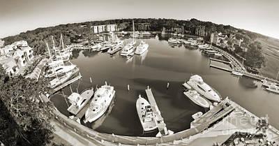 Basin Photograph - Hilton Head Harbor Town Yacht Basin 2012 by Dustin K Ryan