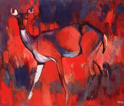 Hind Painting - Hind by Mark Adlington