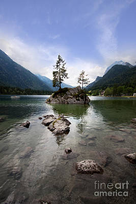 Bavarian Photograph - Hintersee by Nailia Schwarz