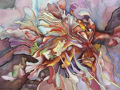 Hippocampe Rouge Print by Liduine Bekman