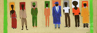 Black History Painting - His Legacy by Kafia Haile