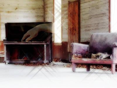 Old School Houses Digital Art - His Song by Anita Faye