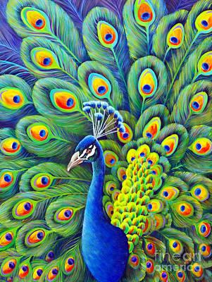 Painting - His Splendor by Nancy Cupp