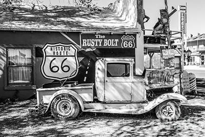 Will Rogers Photograph - Historic 66  Roadside  by Anthony Sacco