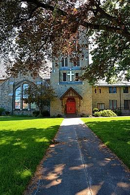 Historic Church In Rochester New York Print by Richard Jenkins