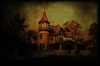 Historic House Print by Joel Witmeyer