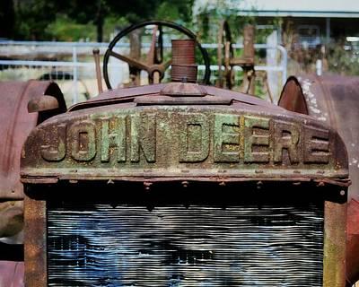 Photograph - Historic John Dere by Marty Koch