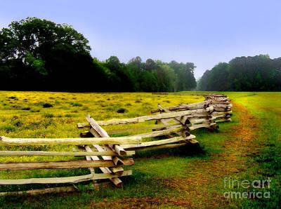 Natchez Trace Parkway Photograph - Historic Path Natchez Trace Parkway by T Lowry Wilson