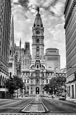 Historic Philly City Hall Print by JC Findley