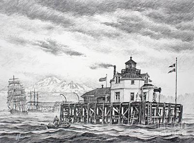 Historic Semiahmoo Lighthouse  Original by James Williamson