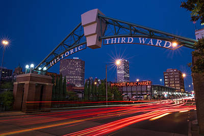 Historic Third Ward Milwaukee Print by Steve Gadomski