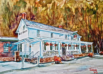 Historic Valley Green Inn Print by Joyce A Guariglia