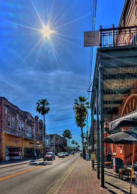 With Red. Photograph - Historic Ybor by Marvin Spates