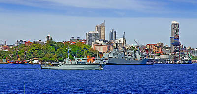 Royal Australian Navy Photograph - Hmas Bathurst Acpb 85  by Miroslava Jurcik