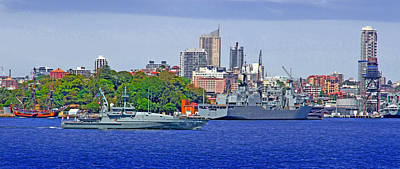 Royal Australian Navy Photograph - Hmas Broome 90 Australian Royal Navy by Miroslava Jurcik