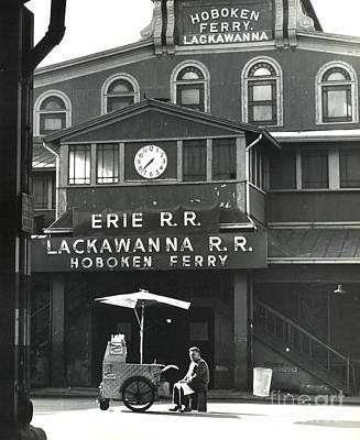 Hot Dogs Photograph - Hoboken Ferry C1966 by Erik Falkensteen