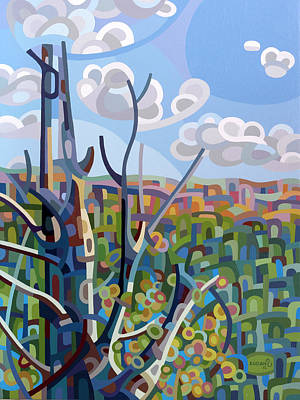 Ridge Painting - Hockley Valley by Mandy Budan