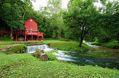 Photograph - Hodgson Water Mill And Spring by Cricket Hackmann