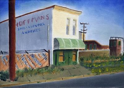 Hoffman Lounge Print by Tim Webster