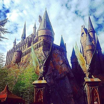 Wizard Photograph - Hogwarts by Kate Arsenault