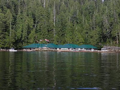 Hoiss Point Lodge #2 Print by Nootka Sound
