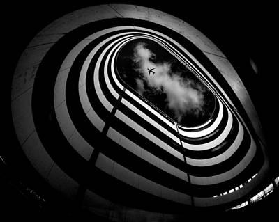 Parking Photograph - Hole by Koji Tajima