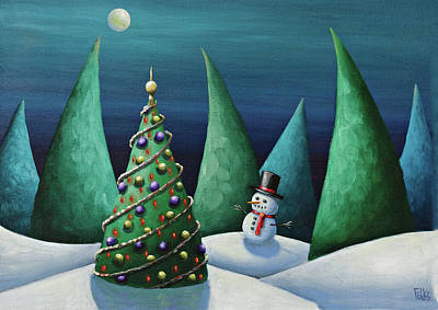 Holiday Delight Original by Eva Folks