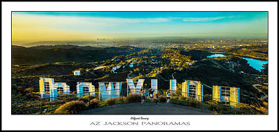 Hollywood Photograph - Hollywood Dreaming Poster Print by Az Jackson