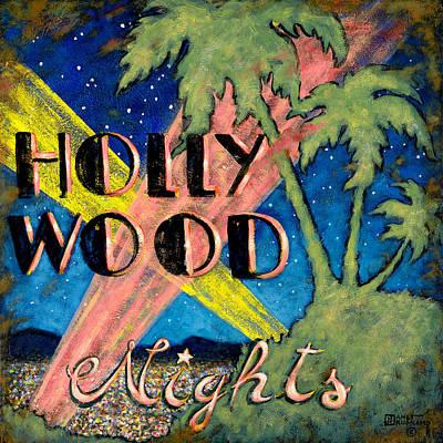 Hollywood Nights Print by Janet  Kruskamp