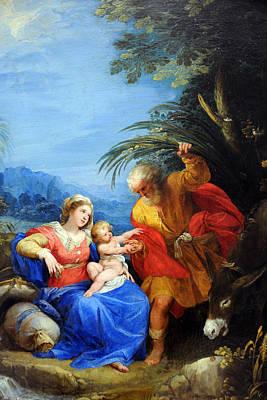 Holy Family Original by Munir Alawi