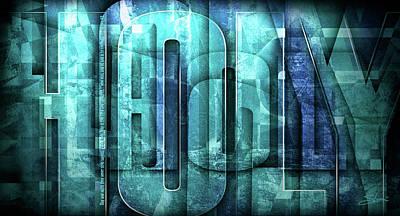 Revelation Mixed Media - Holy Holy Holy by Shevon Johnson