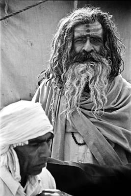 India Babas Photograph - Holy Man by John Battaglino