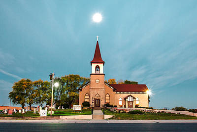 Deerfield Photograph - Holy Moon by Todd Klassy