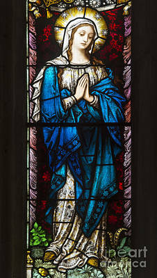 Christian Sacred Photograph - Holy Mother by Tim Gainey