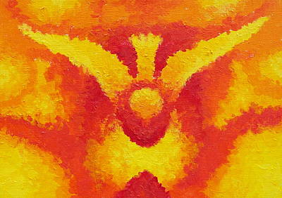Holy Ghost Painting - Holy Spirit by Michele Myers