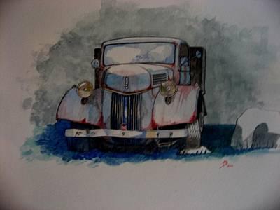 Closeups Drawing - Home Again by Ray Agius