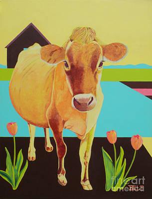 Artist Christine Belt Painting - Mabel by Christine Belt