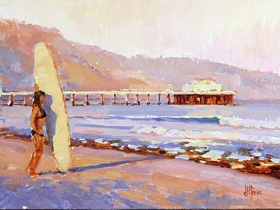 Malibu Painting - Home Break by Jenifer Prince