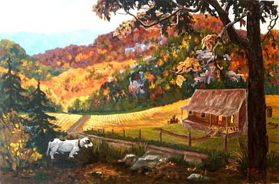 Arkansas Painting - Home From The Hunt by Nyiece Pregeant Owens