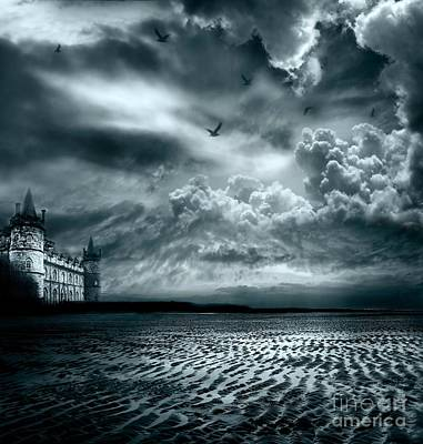 Castle Digital Art - Home by Jacky Gerritsen