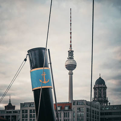 Home Port Berlin Print by Alexander Voss