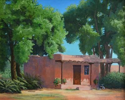 Grande Painting - Home Sweet Adobe Home by Celeste Drewien