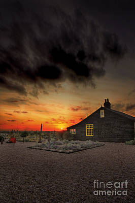 Sunset Photograph - Home To Derek Jarman by Lee-Anne Rafferty-Evans