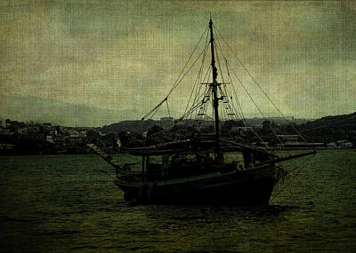 Digital Art - Homecoming Pirate by Sarah Vernon