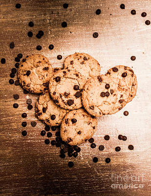 Chip Photograph - Homemade Biscuits by Jorgo Photography - Wall Art Gallery