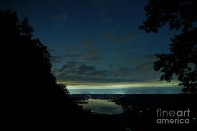 Honeoye Lake From Harriett Hollister Spencer Park Original by Steve Clough